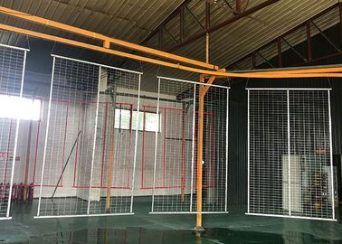 Removable Temporary Modular Fencing , Security Portable Construction Fence