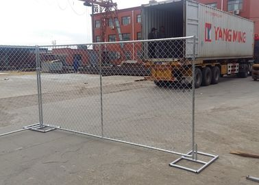 6'X12' Galvanized Chain Link Fence Panels For Commercial Construction